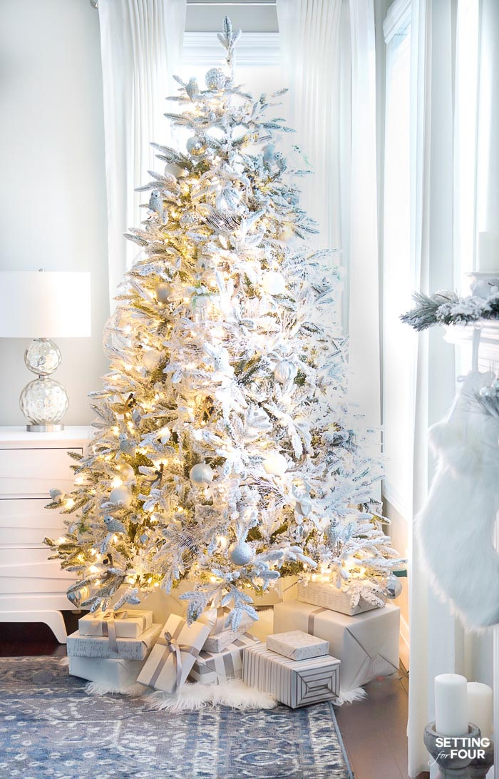 Setting for Four - - simple christmas tree decorating ideas