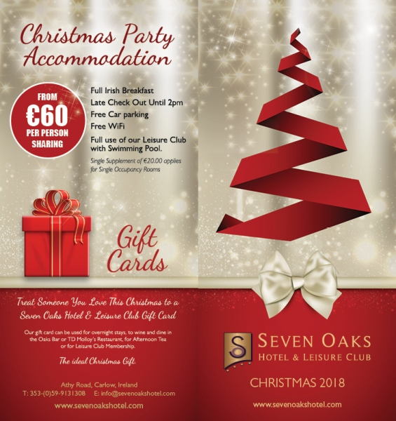 Christmas Party Venue Carlow Christmas Party Carlow Seven Oaks