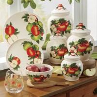 Hand-Painted Apple Dinnerware Set | Seventh Avenue