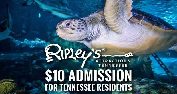 $10 for Tennessee Residents Special is Back at Ripley's Tennessee Attractions