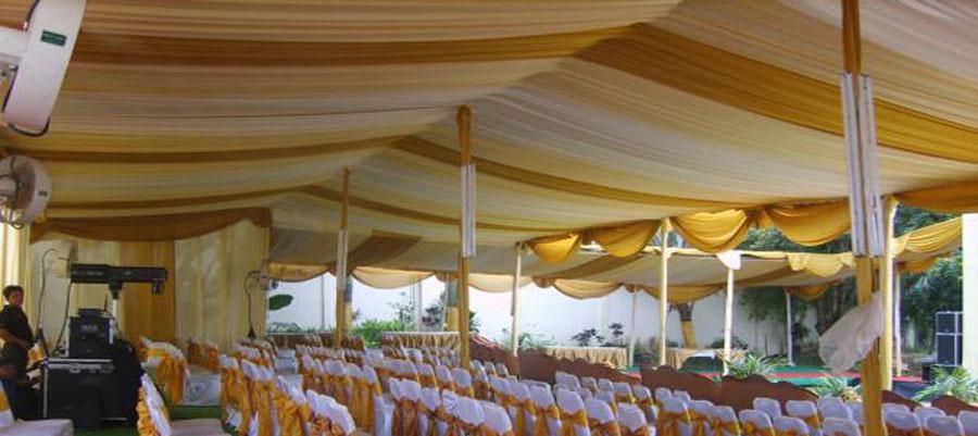 Sewa Tenda Semi Dekorasi
