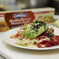 Cooking With Chef Lynn Crawford Chilled Noodle Salad With Ginger Wasabi Dressing Recipe- Plus Win 1 Year Supply of Catelli Healthy Harvest Ancient Grains Pasta