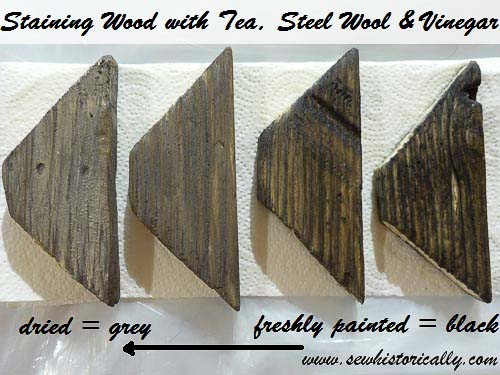 How To Weather Wood With Steel Wool Vinegar Sew