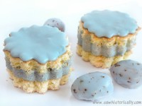 √ Natural Blue Frosting & Icing
