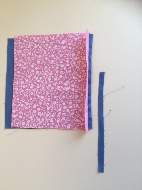 Step 1 - How to sew a flat-felled seam - Sewing Avenue