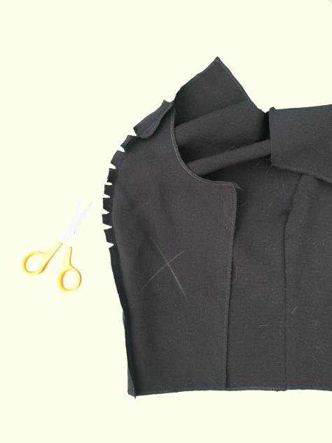 Princess-seam-sewing