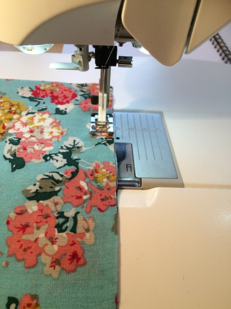 Step 1, sewing, french seams