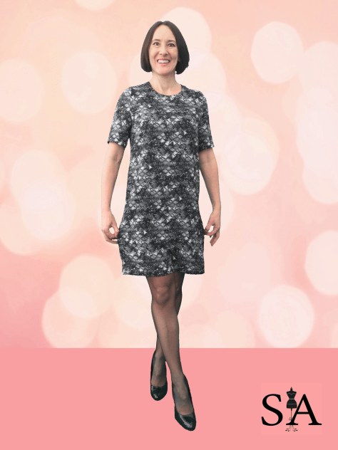Dallia Shift Dress Sewing Avenue