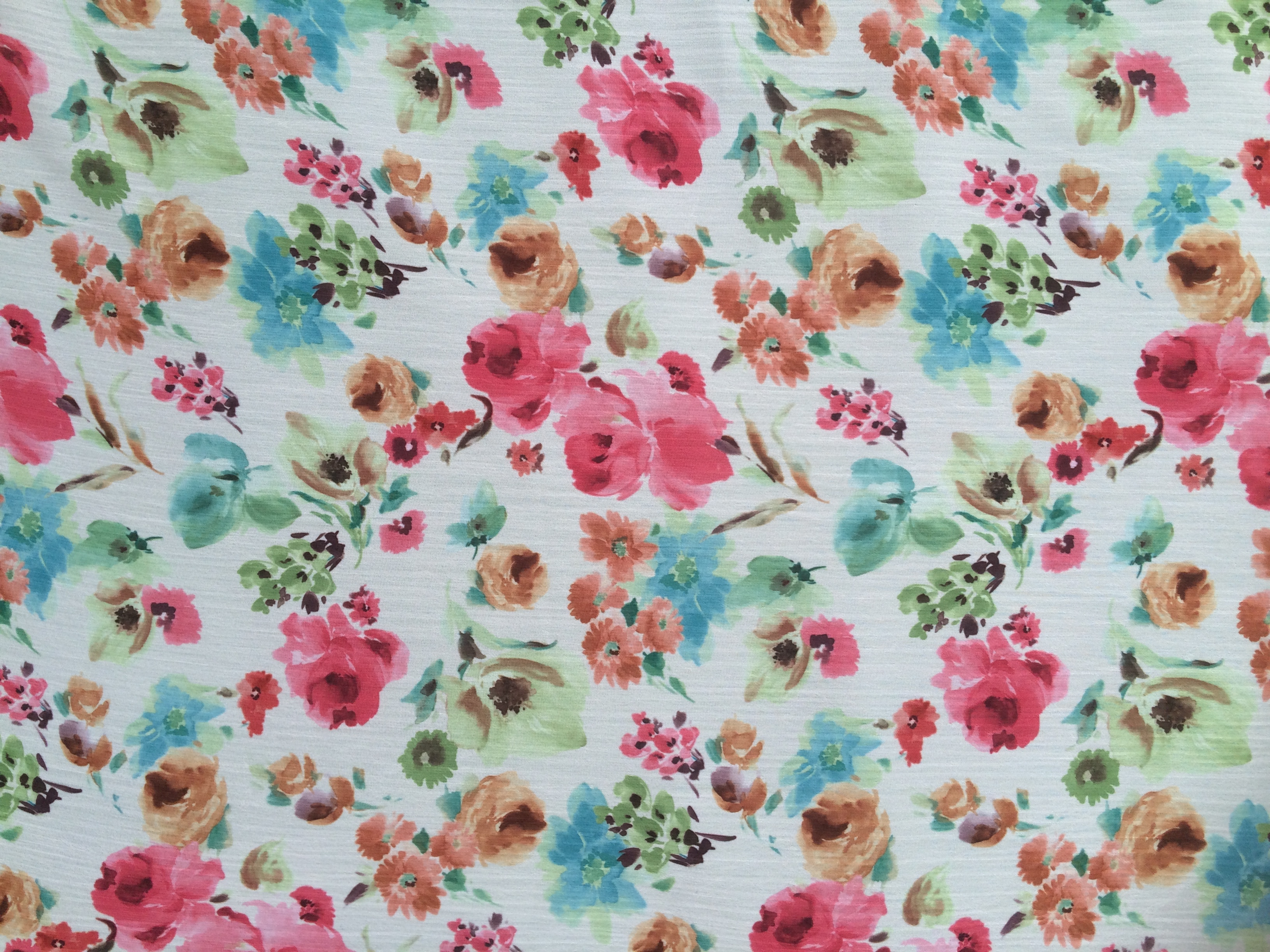 Floral fabric designs sewing avenue for Fabric designs