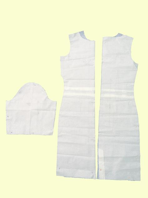 Polkadot Dress Layout image
