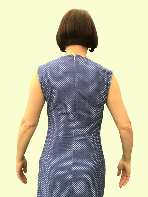 Polkadot Dress back fitting image