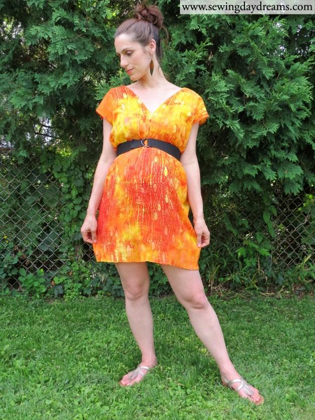sewing daydreams boxy dress tutorial