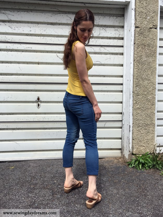 sewing daydreams upcycle jeans tutorial