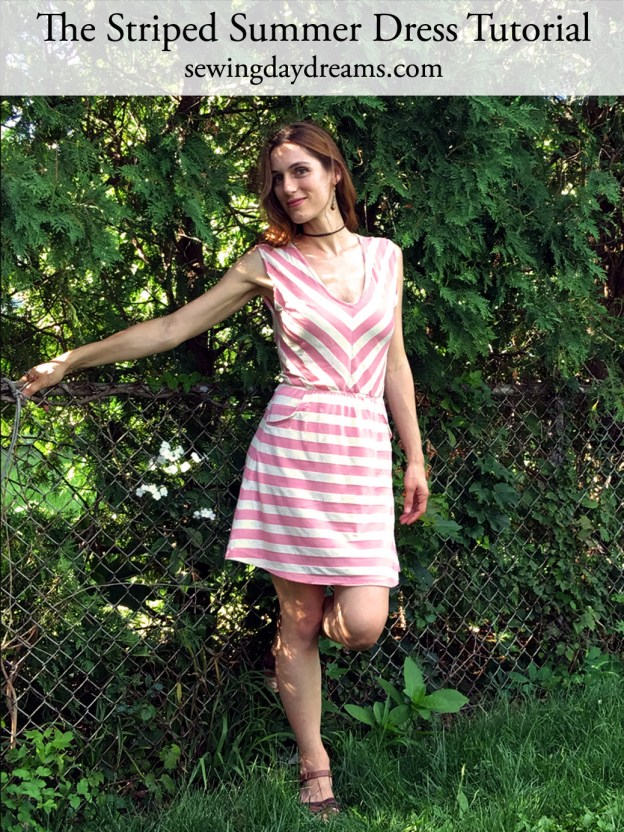 Sewing Daydreams - The Striped Summer Dress Tutorial