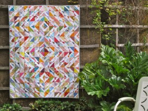sewkatiedid/scappalicious double-trouble quilt