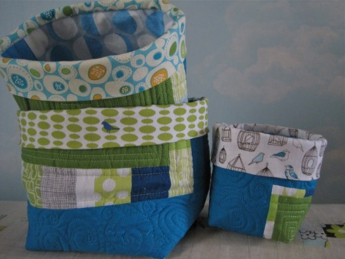 sewkatiedid/fmqing fabric buckets