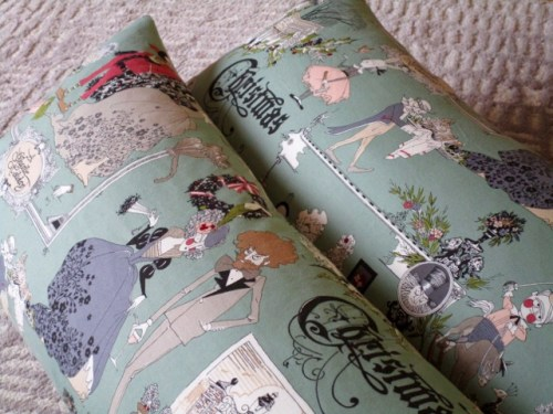 SEW KATIE DID:Christmas Ghastlies Pillows two