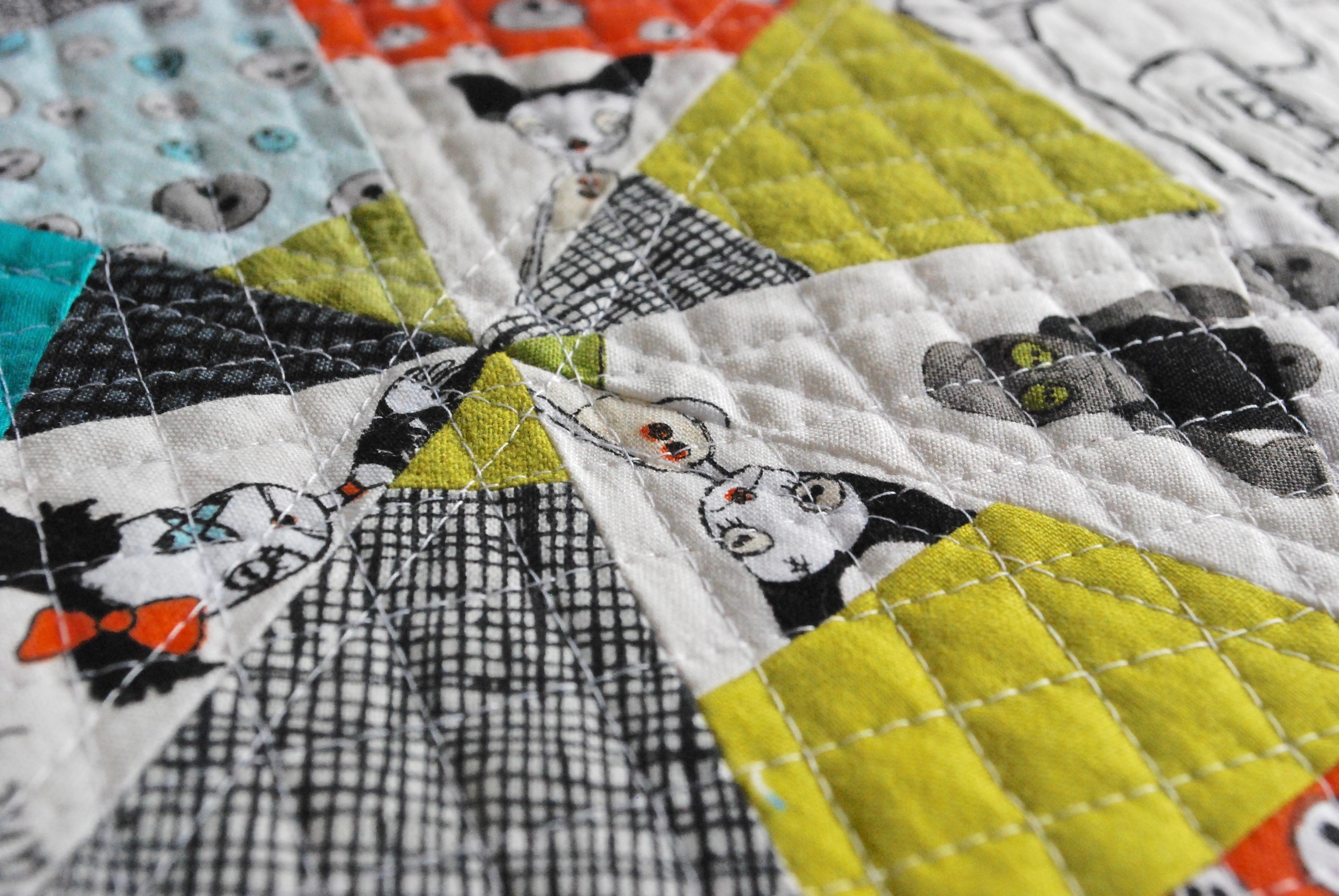 sew katie did   Spiderweb Quilt Block