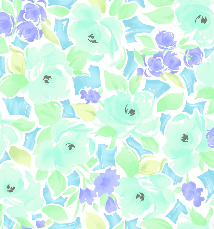 Mint Green Wallpaper Ombre Quotes Wear The Trend Watercolor Florals Blog Lisette