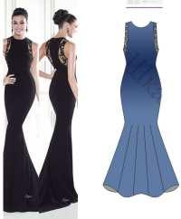 Evening Dress Patterns Free Download - Boutique Prom Dresses
