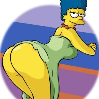 Lois Griffin & milf Marge Simpson hentai