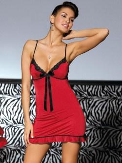 lingerie_chemise_rossa_con_perizoma_obsessive_calypso