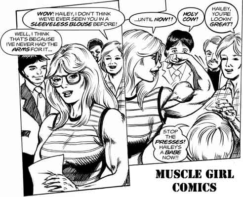 muscle chick comics