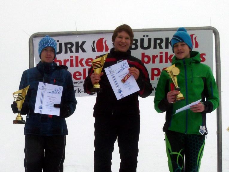 Skiabteilung Siegerehrung Frederik Zepf