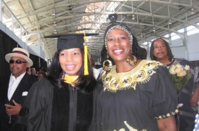 Dr. Kaire Poole Besses and her mother Dr. Betty McGee.