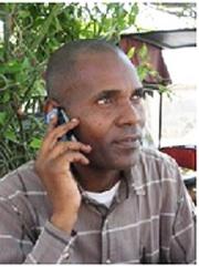 Kenyan pirate negotiator Andrew Mwangura