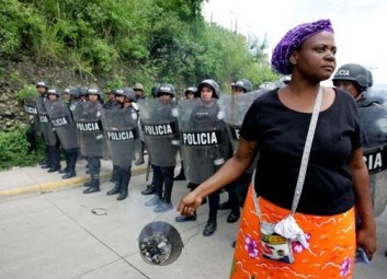 Black Hondurans are playing a major role in resisting the coup.