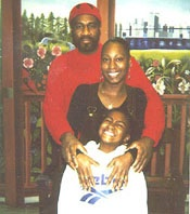 Jalil Muntaqim with his daughter Antoinette, and granddaughter Shacari in 2000.