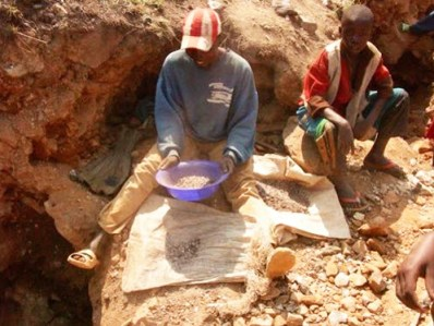 Foreign corporations that use Congolese children to dig coltan from Congo's rich earth make $400 per pound when they sell it to power our cell phones and laptops.
