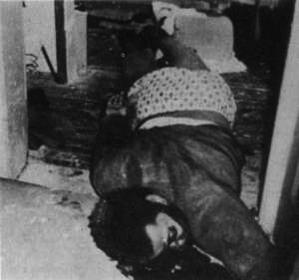 their son  Fred Hampton Huey P Newton Dead Body