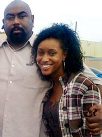 Mitrice Richardson with her father, Michael Richardson. – Photos courtesy of the Richardson family