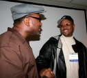 POCC Chairman Fred Hampton Jr. and Davey D at the 2007 Media Reform Conference in Memphis - Photo: POCC Minister of Information JR