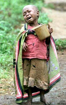 Wouldn't you reach out to this child if you could? You can. Visit Friends of the Congo.