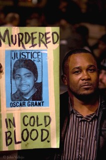 "Attorney General Holder recognized in his speech that he stands on the shoulders of Blacks ""who were lynched by the hundreds,"" one of the most recent being Oscar Grant, murdered in cold blood by a BART police officer on New Year's in Oakland. – Photo: John Vallejo"