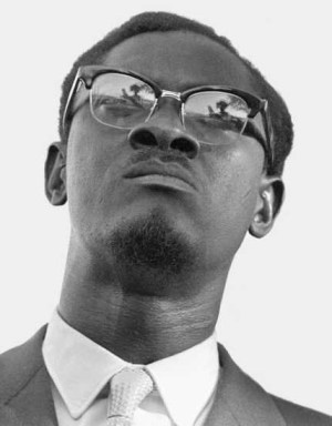 Patrice Lumumba in Stanleyville, May 1960