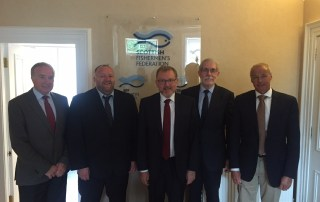Secretary of State for Scotland David Mundell meets Bertie Armstrong, Ian Gatt, Alex Wiseman and Mark Robertson