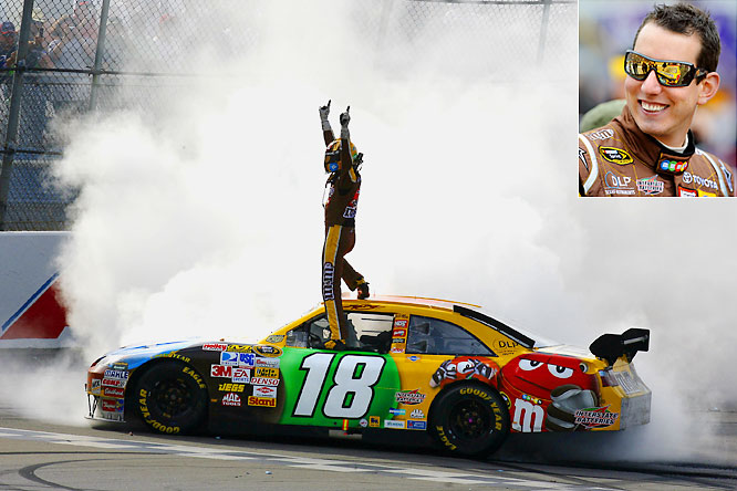 Car Chase Wallpaper Kyle Busch Races To 3rd Win Of Year Moves Closer To Chase