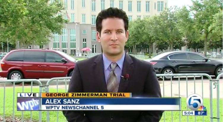 Zimmerman-Alex Sanz on-air screen grab WPTV