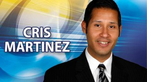 Cris Martinez WPBF meteorologist