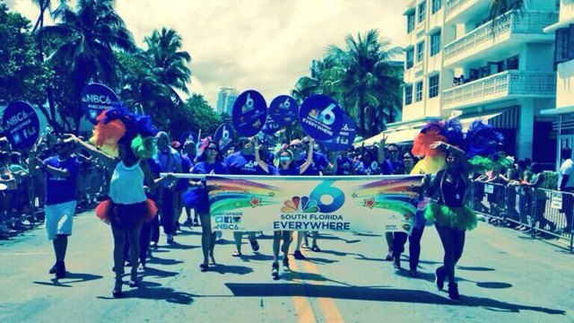 WTVJ NBC 6 South Florida Pride 2014