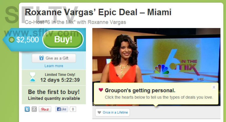 WTVJ NBC 6 In The Mix Groupon Deal