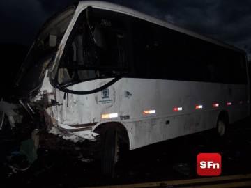 acidente viatura ônibus rj-158  8