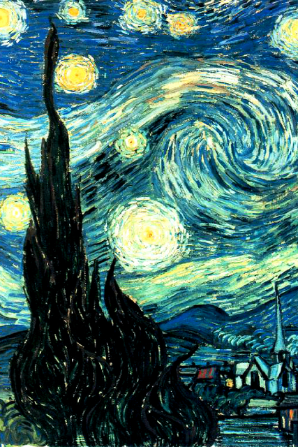 Van Gogh Starry Night Iphone Wallpaper Starry Night Van Gogh Arte E Intrattenimento Sfondi