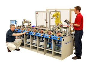 Amatrol 870 Mechatronics and 85-MT5 Motor Control Learning Systems, an example of the equipment SFSC may use in its mechatronics lab