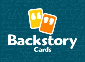 Backstory Cards - Back Horiz Logo