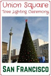 Union Square Christmas Tree Lighting: 2018 Event Details